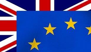 EU & UK flag