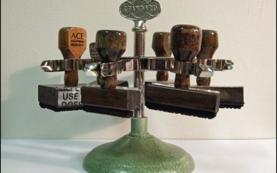 rubber stamp tree